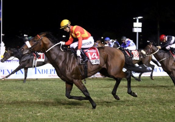 Black Arthur: This could be Doug Whyte's lucky year!