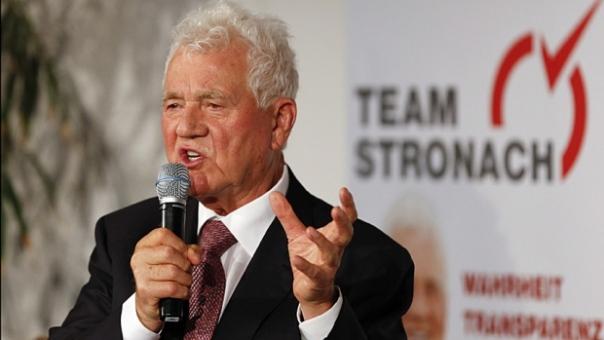 Frank Stronach, originator of the Pegasus World Cup.
