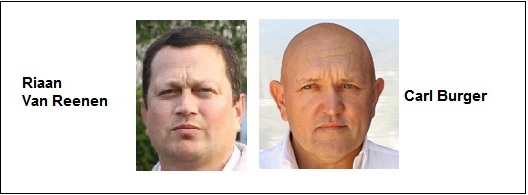 The look very serious on these mug shots, but Riaan and Carl are very approachable and deserve support.