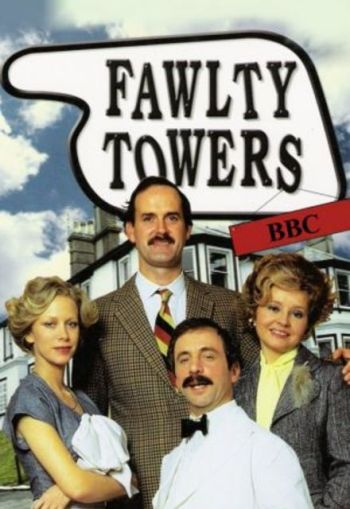 Sometimes, the writer feels more annoyed than the fictional character, Basil Fawlty.