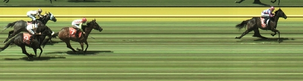 Photo finish: Strictly Legit wins by four under Callan Murray.