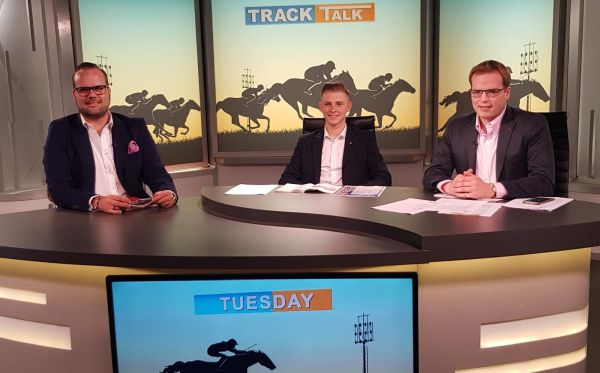 Lyle Hewitson on the 'Track Talk' show with Gareth Pepper.