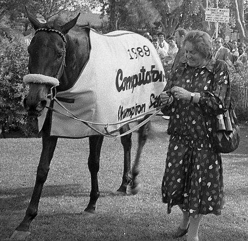 Jean with the star mare, Roland's Song.
