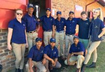 Moutonshoek Staff at National Yearling Sale, 2019.