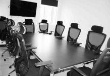Virtual boardroom.