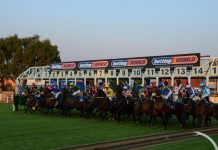Races at Turffontein.