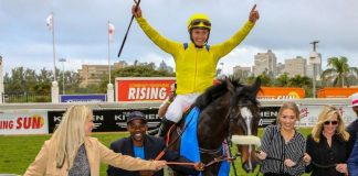 Do It Again (Richard Fourie), after the Gr1 Rising Sun Gold Challenge.