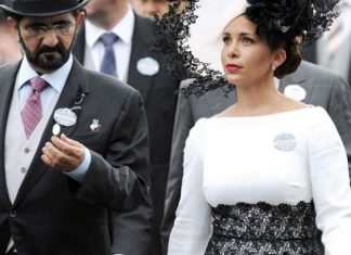 Sheikh Mohammed and Princess Haya.