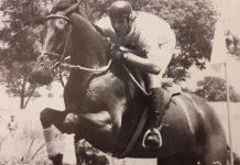 John Nicholson riding Montego Rum.