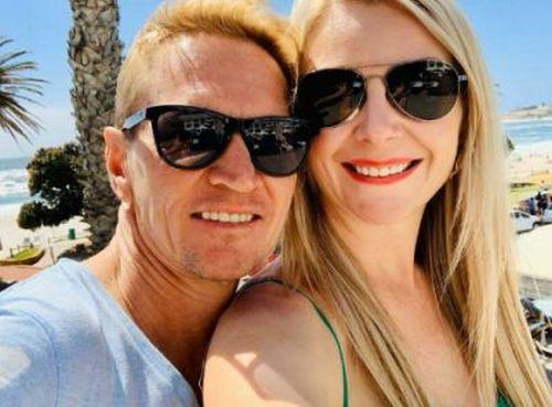 Piere Strydom and girlfriend, Chrisna.