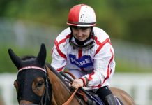 Hollie Doyle on Scarlet Dragon.