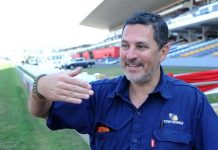 Pic: Greyville track manager Kurt Grunewald (Picturee: Refilwe Modise).
