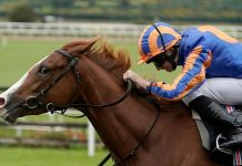 Love (Ryan Moore): What a filly she is!