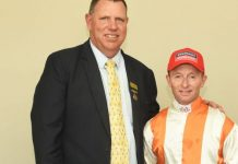 Alan Greeff and Greg Cheyne, top form. (Pauline Herman).